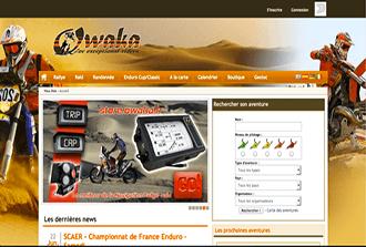 Site pour les passionés d'aventure moto
